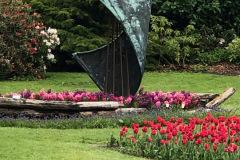 Gavnø slot - tulipan festival, maj
