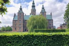 Rosenborg slot - København , juni