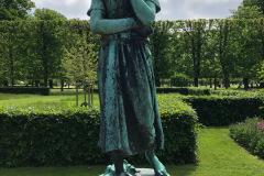 Kongens Have - København, juni